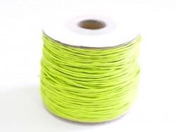 1 m gewachste Baumwollschnur - apfelgrün
