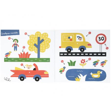 Acheter Livre enfants - Stickers muraux - la ville - 12,90€ en ligne sur La Petite Epicerie - Loisirs créatifs