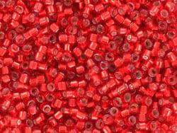 Acheter Miyuki Delicas 11/0 - Silverlined dyed red DB-602 - 2,89€ en ligne sur La Petite Epicerie - Loisirs créatifs