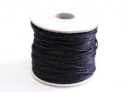 1 m de fil de coton ciré - noir