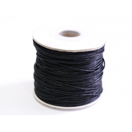 Acheter 1 m de fil de coton ciré - noir - 0,69€ en ligne sur La Petite Epicerie - Loisirs créatifs
