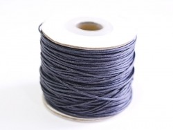 1 m of polyester cord - slate-grey