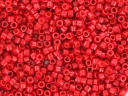 Acheter Miyuki Delicas 11/0 - Opaque sf dyed bright red DB-791 - 2,49€ en ligne sur La Petite Epicerie - Loisirs créatifs