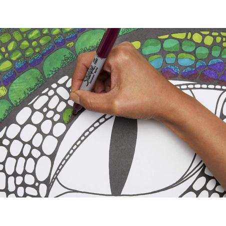 Acheter Lot de 12 marqueurs Sharpie - pointe fine - 24,99€ en ligne sur La Petite Epicerie - Loisirs créatifs