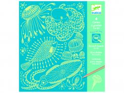 Acheter Cartes à gratter - Sea Life phosphorescentes - 5,99€ en ligne sur La Petite Epicerie - Loisirs créatifs