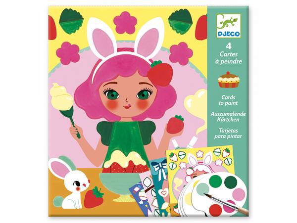 Acheter Cartes à peindre - Le goûter - 8,99€ en ligne sur La Petite Epicerie - 100% Loisirs créatifs