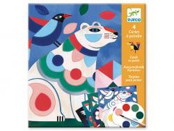 Acheter Cartes à peindre - Le bestiaire - 8,99€ en ligne sur La Petite Epicerie - Loisirs créatifs