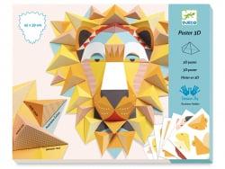 Acheter Poster 3D - Le lion - 12,49€ en ligne sur La Petite Epicerie - Loisirs créatifs