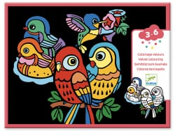 Acheter Coloriage velours - Bébés oiseaux - 7,49€ en ligne sur La Petite Epicerie - Loisirs créatifs
