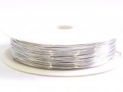 3,20 m de fil de cuivre 0,5 mm - argenté