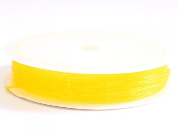 Acheter 5 m de fil élastique 0,8 mm - jaune d'or - 2,49€ en ligne sur La Petite Epicerie - Loisirs créatifs