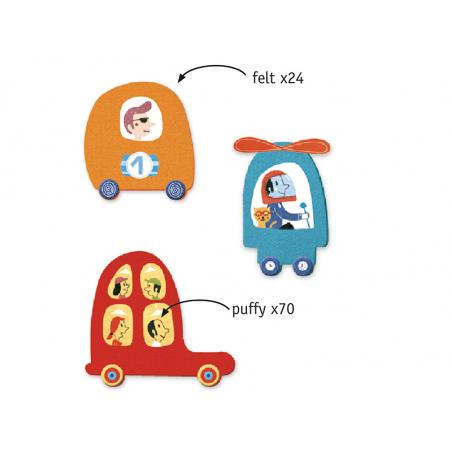 Acheter Créer avec des gommettes - J'aime les voitures - 14,99€ en ligne sur La Petite Epicerie - 100% Loisirs créatifs