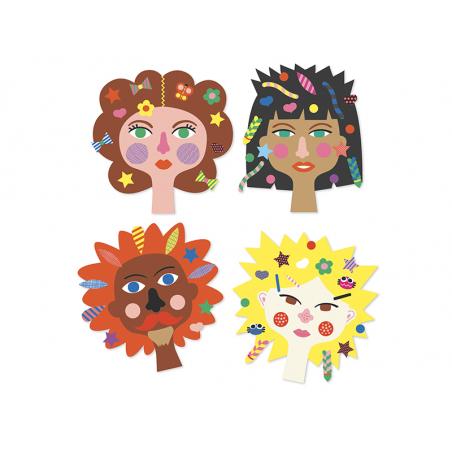 Acheter Créer avec des stickers - Coiffeur - 9,99€ en ligne sur La Petite Epicerie - Loisirs créatifs