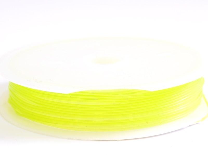 Acheter 5 m de fil élastique 0,8 mm - vert fluo - 2,49€ en ligne sur La Petite Epicerie - Loisirs créatifs