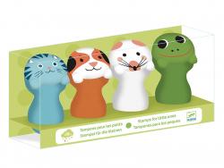 Acheter Tampons des petites mains - Animaux du jardin - 14,99€ en ligne sur La Petite Epicerie - Loisirs créatifs