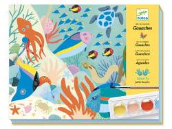 Acheter Coffret gouaches - Art au numéro Natural world - 17,19€ en ligne sur La Petite Epicerie - Loisirs créatifs