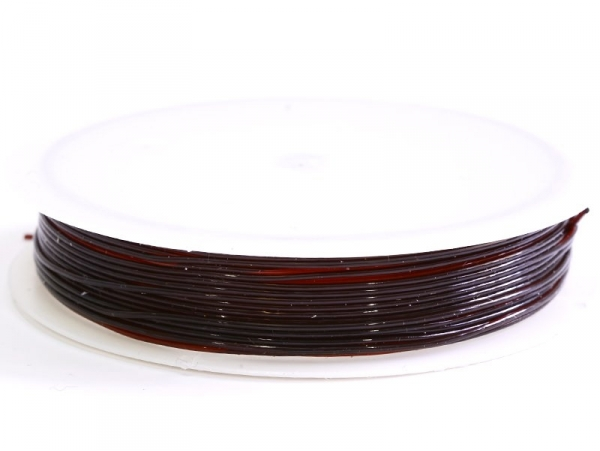 Acheter 5 m de fil élastique 0,8 mm - chocolat - 2,49€ en ligne sur La Petite Epicerie - Loisirs créatifs