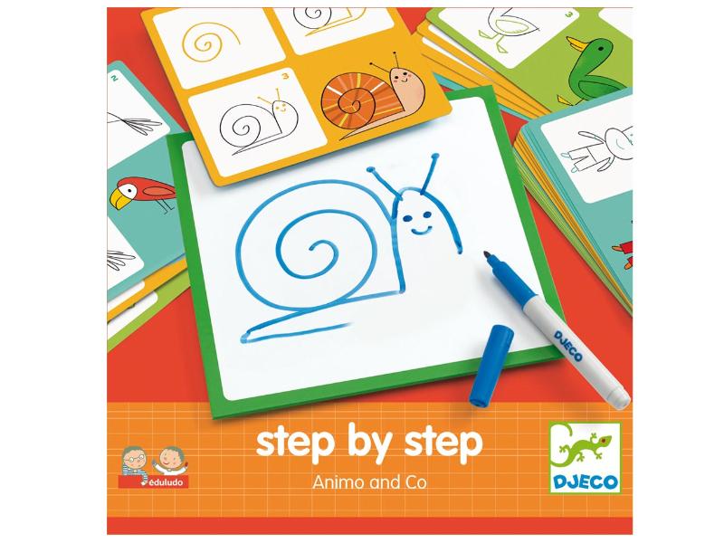 Acheter Step by step - Animo and co - 12,49€ en ligne sur La Petite Epicerie - Loisirs créatifs