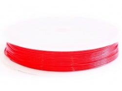 5 m de fil élastique 0,8 mm - rouge