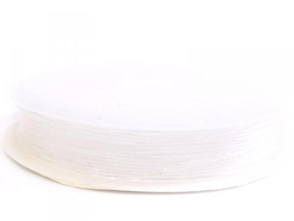 5 m of elastic cord, 0.8 mm - transparent