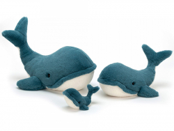 Acheter Peluche Baleine Wally - 20 cm - 22,99€ en ligne sur La Petite Epicerie - Loisirs créatifs