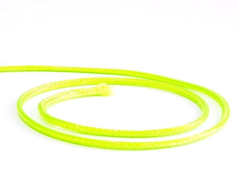 Acheter 1 m cordon polyester tressé 2,5 mm - vert néon - 0,49€ en ligne sur La Petite Epicerie - 100% Loisirs créatifs