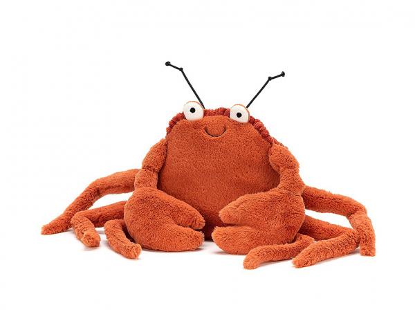 Acheter Peluche Crabe Crispin - 15 cm - 31,99€ en ligne sur La Petite Epicerie - Loisirs créatifs