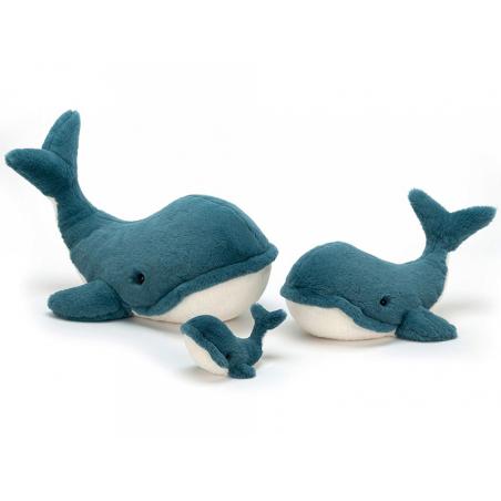 Acheter Peluche Baleine Wally - 35 cm - 33,99€ en ligne sur La Petite Epicerie - 100% Loisirs créatifs
