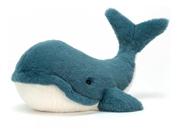 Acheter Peluche Baleine Wally - 35 cm - 33,89€ en ligne sur La Petite Epicerie - Loisirs créatifs