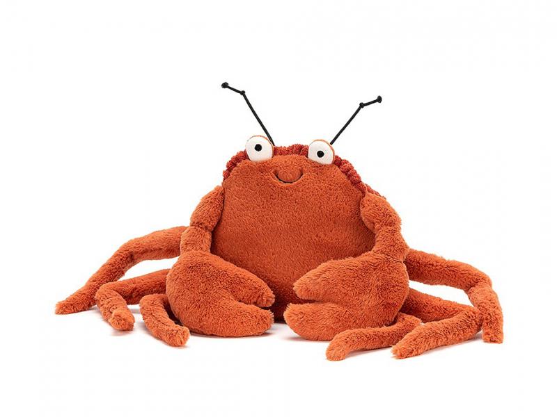 Acheter Peluche Crabe Crispin - 11 cm - 19,99€ en ligne sur La Petite Epicerie - Loisirs créatifs
