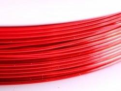 9 m de fil de cuivre 0,5 mm - rouge