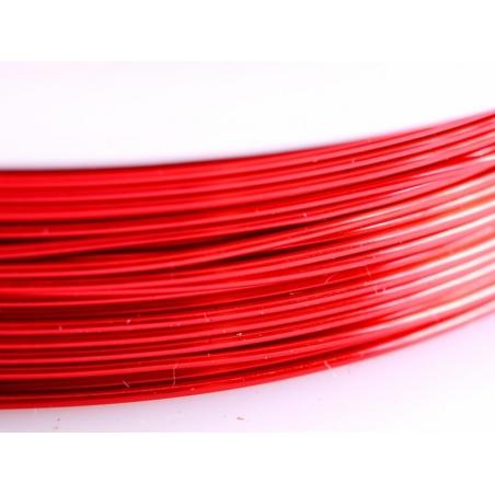 Acheter 9 m de fil de cuivre 0,5 mm - rouge - 3,50€ en ligne sur La Petite Epicerie - 100% Loisirs créatifs