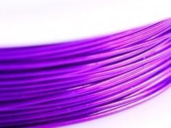 9 m de fil de cuivre 0,5 mm - violet