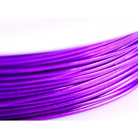 Acheter 9 m de fil de cuivre 0,5 mm - violet - 3,50€ en ligne sur La Petite Epicerie - 100% Loisirs créatifs
