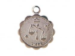 Acheter Médaille astro flash argent 925 - Balance - 3,49€ en ligne sur La Petite Epicerie - Loisirs créatifs