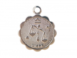 Acheter Médaille astro plaqué argent 925 - Balance - 3,49€ en ligne sur La Petite Epicerie - Loisirs créatifs