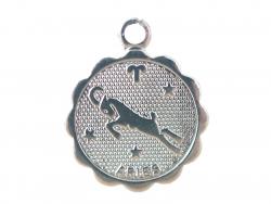Acheter Médaille astro plaqué argent 925 - Bélier - 3,49€ en ligne sur La Petite Epicerie - Loisirs créatifs