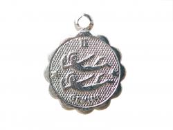 Acheter Médaille astro plaqué argent 925 - Gémeaux - 3,49€ en ligne sur La Petite Epicerie - Loisirs créatifs