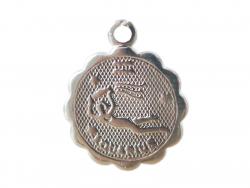 Acheter Médaille astro plaqué argent 925 - Verseau - 3,49€ en ligne sur La Petite Epicerie - Loisirs créatifs