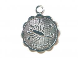 Acheter Médaille astro plaqué argent 925 - Scorpion - 3,49€ en ligne sur La Petite Epicerie - Loisirs créatifs