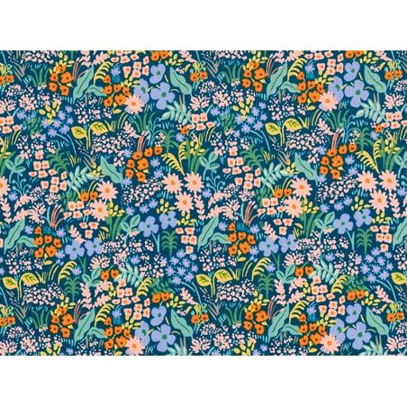 Acheter Tissu coton Rifle Paper - Meadow Blue - 2,41€ en ligne sur La Petite Epicerie - Loisirs créatifs