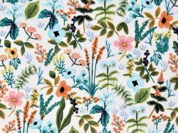 Acheter Tissu coton Rifle Paper - Amalfi Herb Garden Natural - 2,35€ en ligne sur La Petite Epicerie - Loisirs créatifs