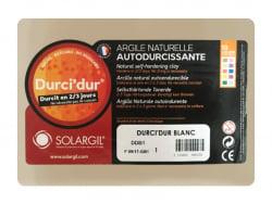 Acheter Durci'dur blanc - Argile naturelle autodurcissante - 7,99€ en ligne sur La Petite Epicerie - Loisirs créatifs
