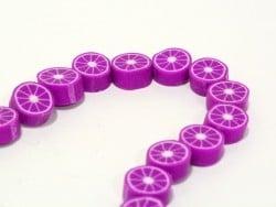 Acheter 20 perles agrumes - violet - 1,99€ en ligne sur La Petite Epicerie - Loisirs créatifs