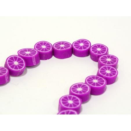 Acheter 20 perles agrumes - violet - 1,99€ en ligne sur La Petite Epicerie - 100% Loisirs créatifs