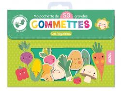 Acheter Ma pochette de 50 grandes gommettes - Les légumes - 4,95€ en ligne sur La Petite Epicerie - Loisirs créatifs