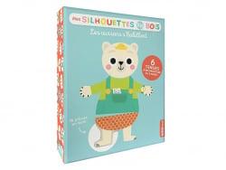 Acheter Jeu les oursons s'habillent - mes silhouettes en bois -jacque isabelle - 14,95€ en ligne sur La Petite Epicerie - Lo...