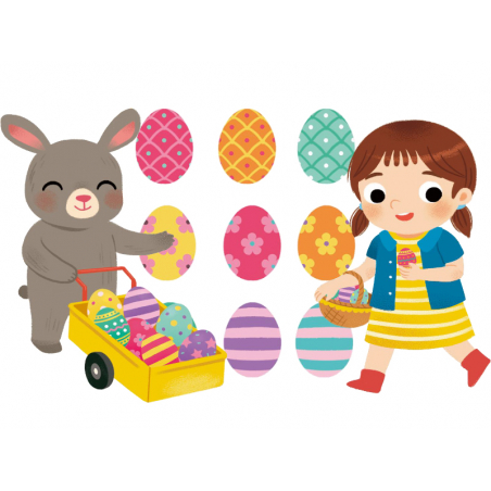 Acheter Mes 500 autocollants - Pâques - 7,95€ en ligne sur La Petite Epicerie - 100% Loisirs créatifs