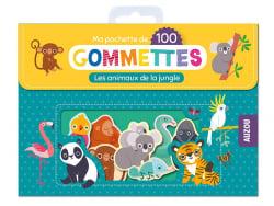Acheter Pochette de 100 gommettes - Les animaux de la jungle - 4,95€ en ligne sur La Petite Epicerie - Loisirs créatifs