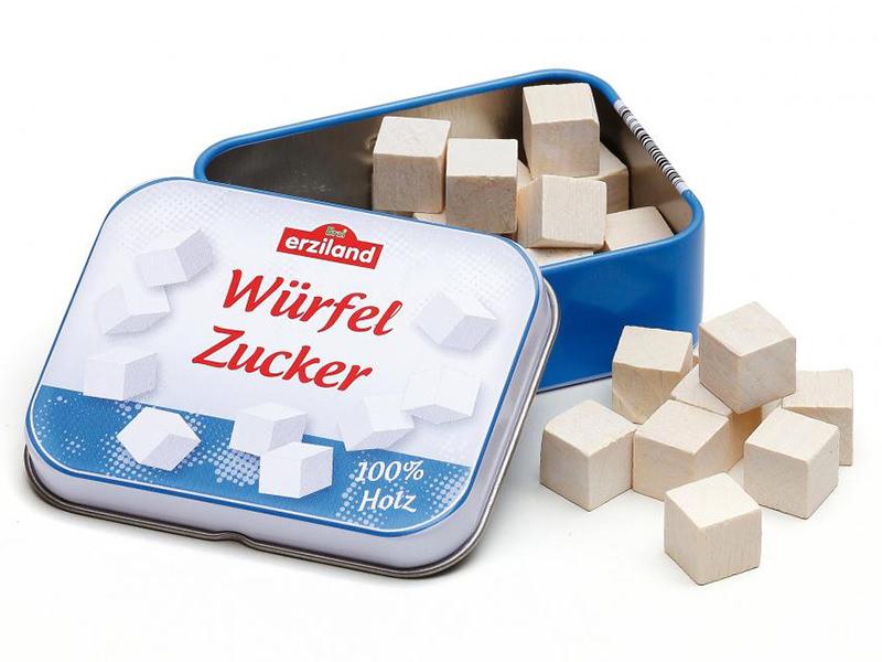 Acheter Carrés de sucre dans un boîte en métal - jouet pour dinette - 4,99€ en ligne sur La Petite Epicerie - 100% Loisirs c...